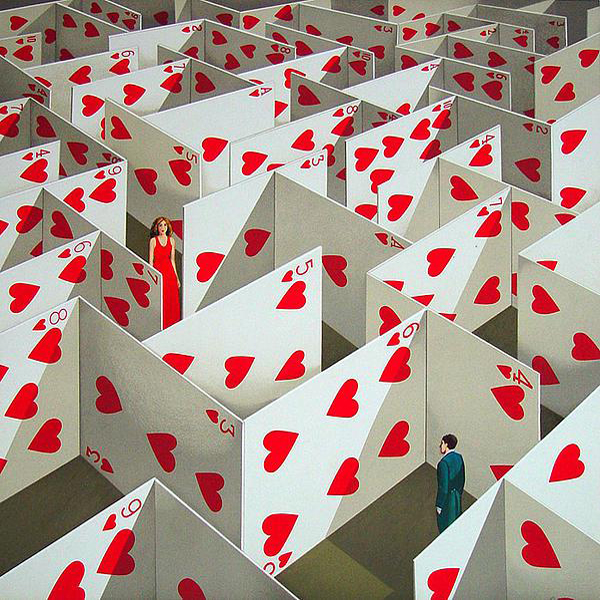 labirinto di carte