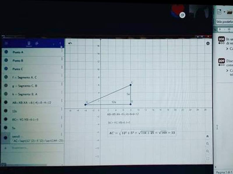 libro digitale geometria geogebra