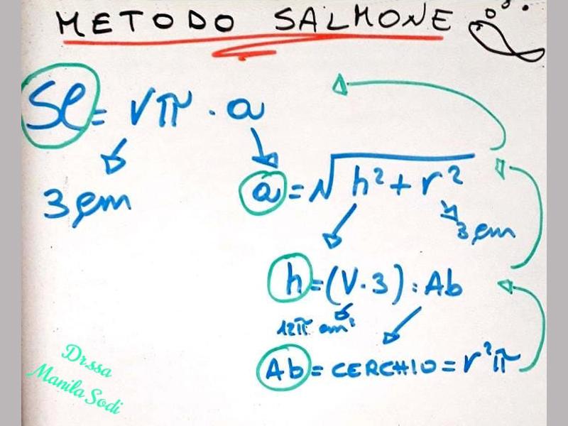 geometria metodo salmone